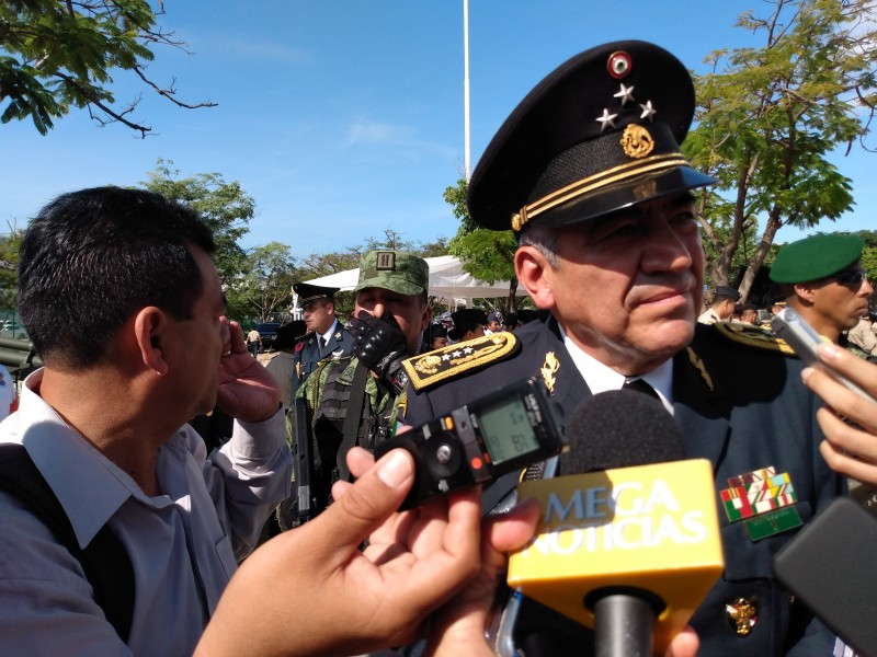 Garantizan Fuerzas Armadas seguridad en Chiapas