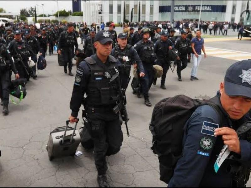 Garantizan salario y prestaciones a policías federales