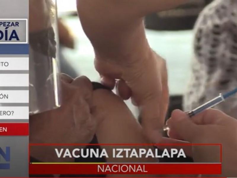 Garantizan vacunas para Iztapalapa y Tlalpan a pesar de retraso