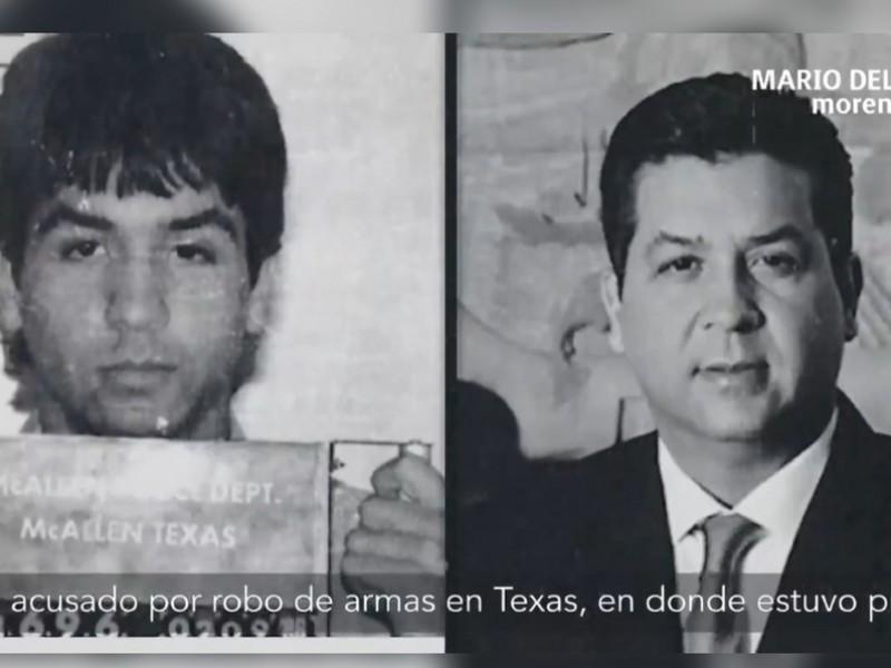 García Cabeza de Vaca estuvo preso en EU, asegura Morena