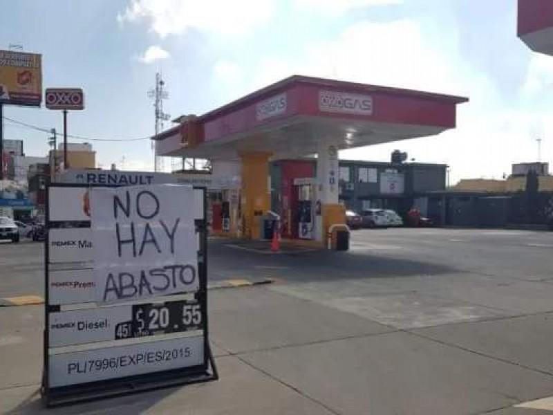 Reportan que algunas gasolineras se quedaron sin servicio