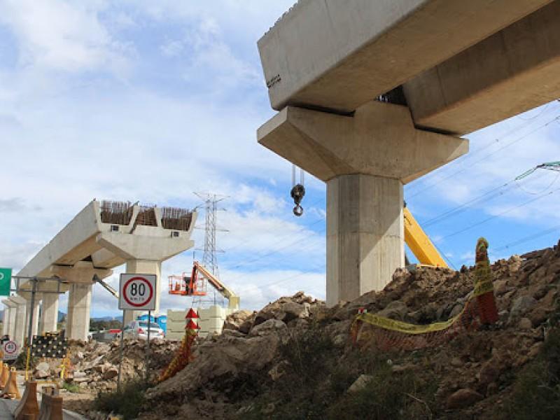Gasto en infraestructura cae 40% en siete años