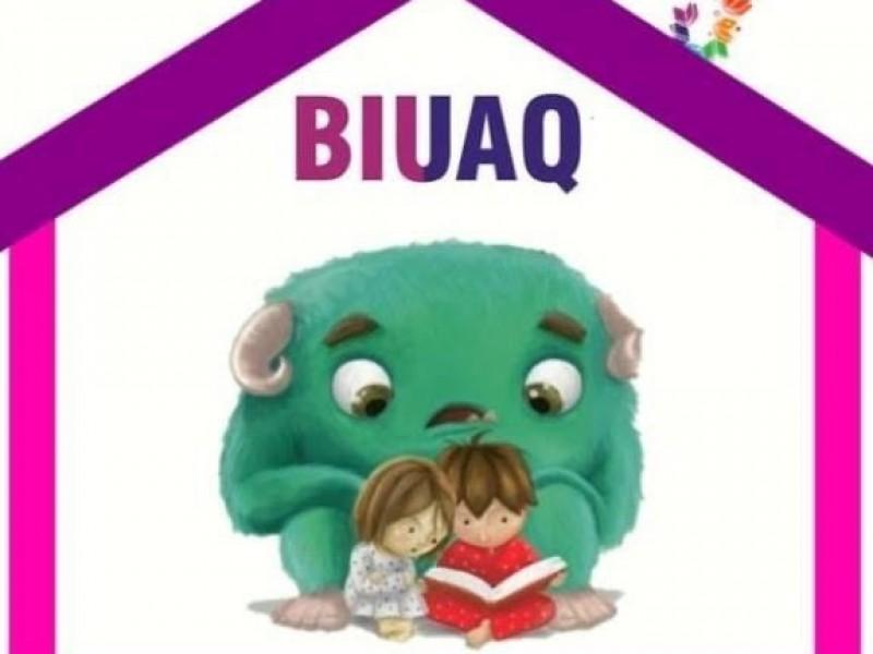 Genera BIUAQ actividades para niños en Facebook, para la cuarentena