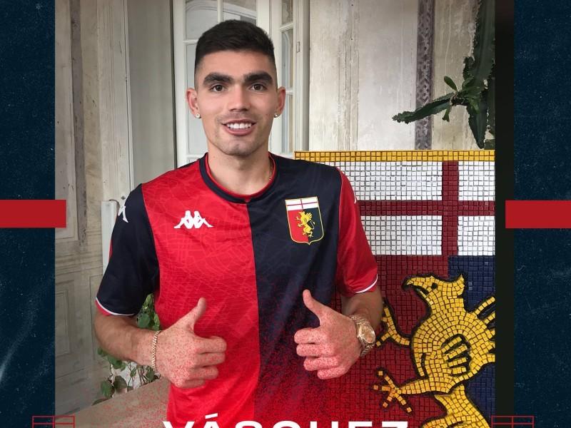 Genoa ficha al defensa mexicano Johan Vásquez