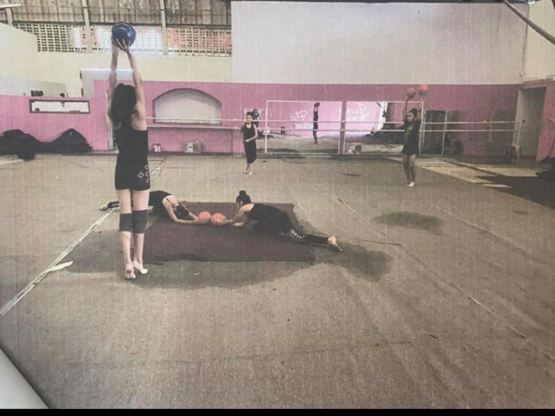 Gimnastas denuncian pésimas condiciones del gimnasio del INCUFID