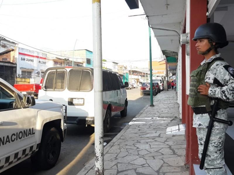 GN continúa con operativos en la Frontera Sur