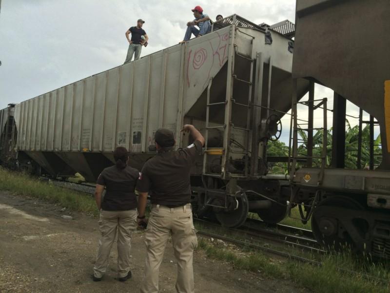 GN intensifica operativos en vías férreas