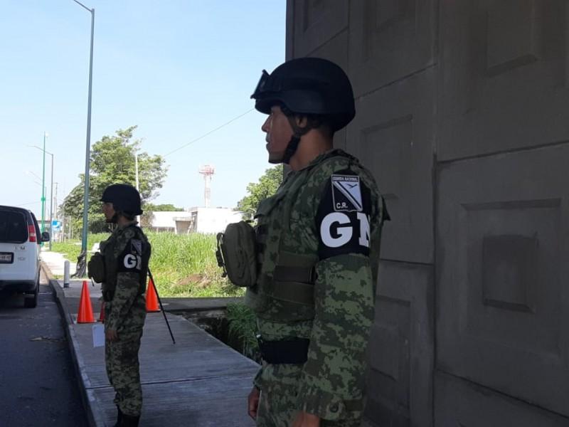 GN ya opera en Chiapas: Gobierno del Estado