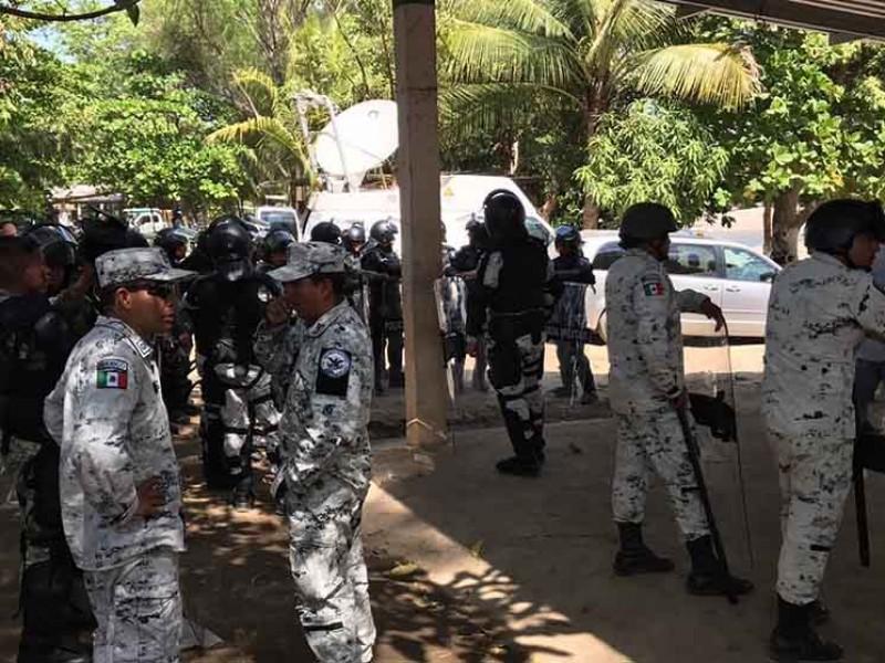 GN ya tiene cuartel en Tapachula