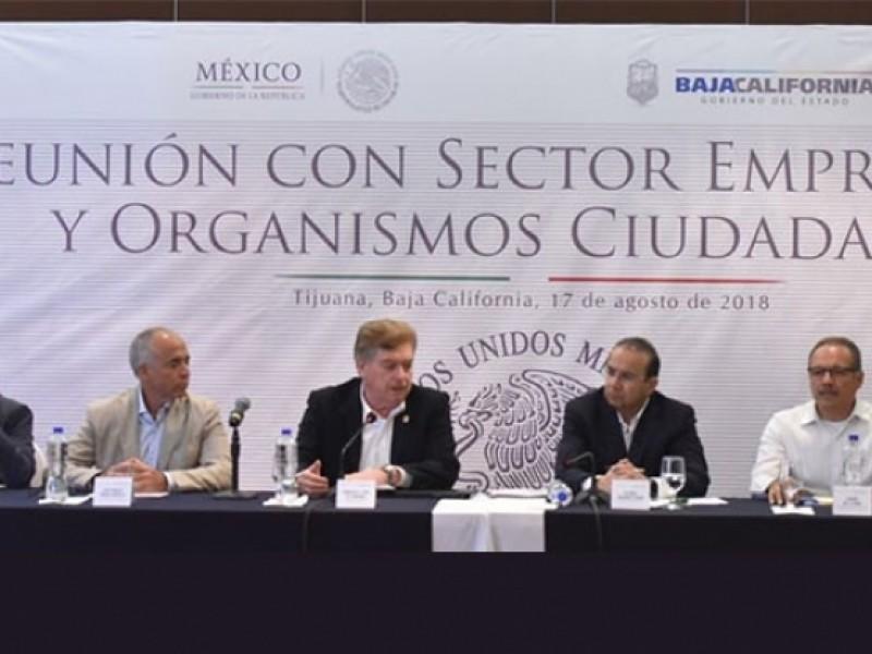 Gobernación afirma que fortalecerán seguridad en Baja California