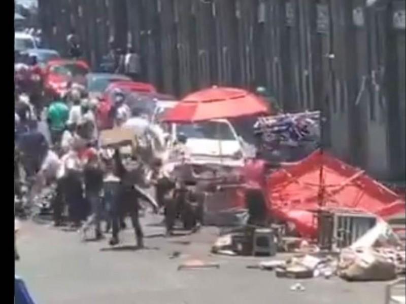 Gobernación intervendrá en conflicto entre ambulantes del CH