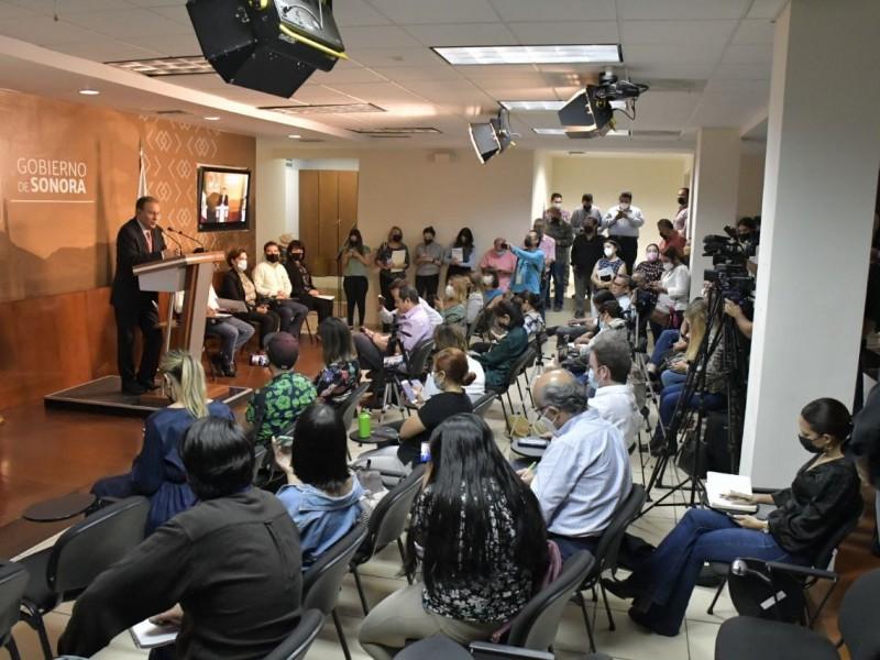 Gobernador Alfonso Durazo presenta programa integral de infraestructura