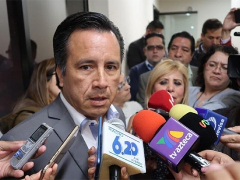 Gobernador electo exige auditoría a gobierno en Veracruz
