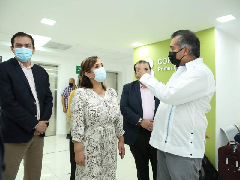 Gobernador Jaime Rodríguez busca reconvertir más hospitales Covid-19