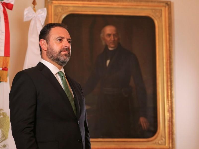 Gobernador presenta denuncia por calumnias ante fiscalía