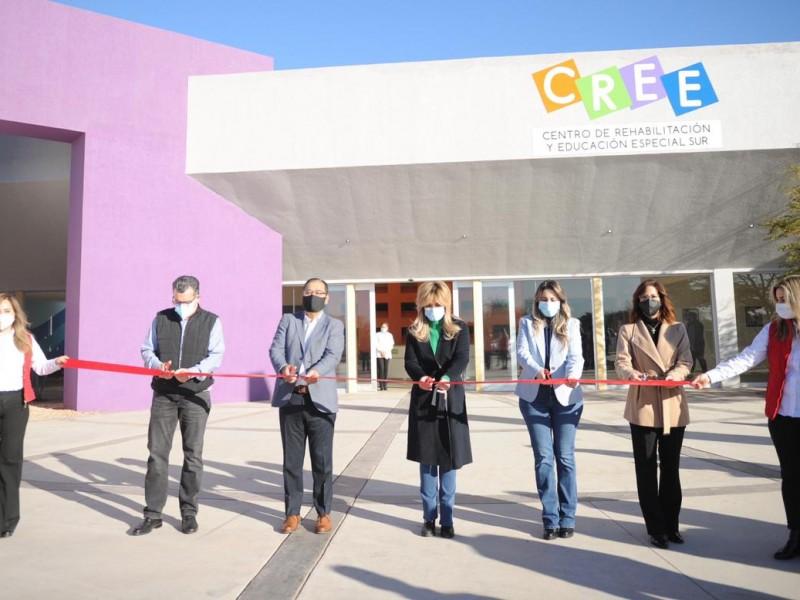 Gobernadora inaugura instalaciones del CREE en Obregón