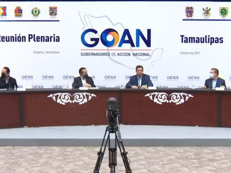 Gobernadores del PAN piden un cambio en la política energética