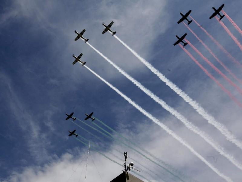 Gobernadores reconocen labor de la Fuerza Aérea Mexicana