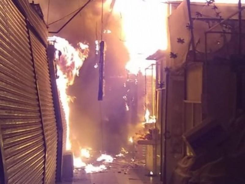 Gobierno de la CDMX apoyará afectados por incendio