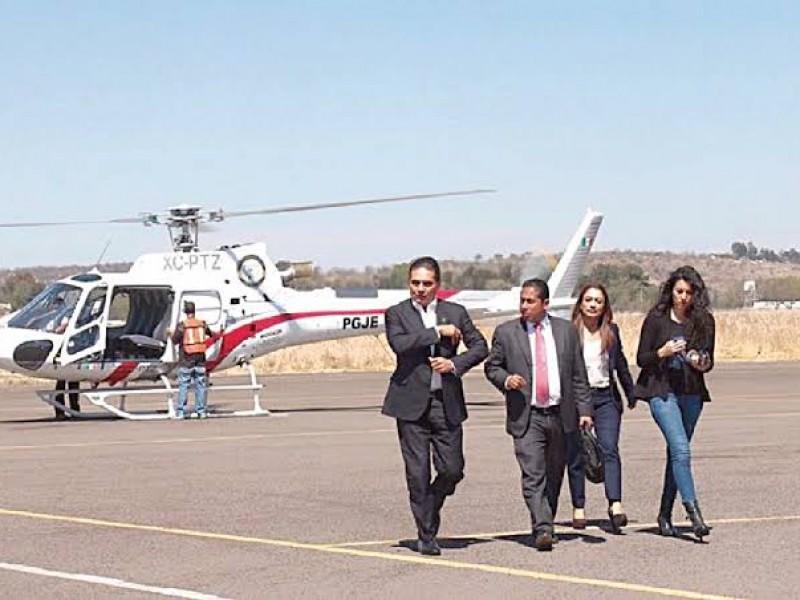 Gobierno de Silvano Aureoles gastó 1,227mdp en renta de helicópteros