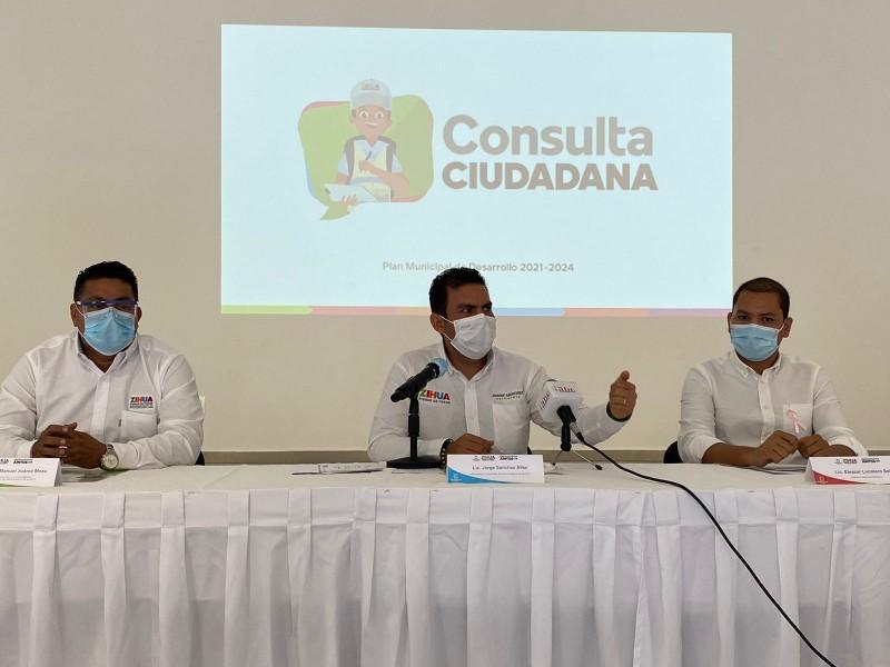 Gobierno de Zihuatanejo anuncia foros para Plan Municipal de Desarrollo