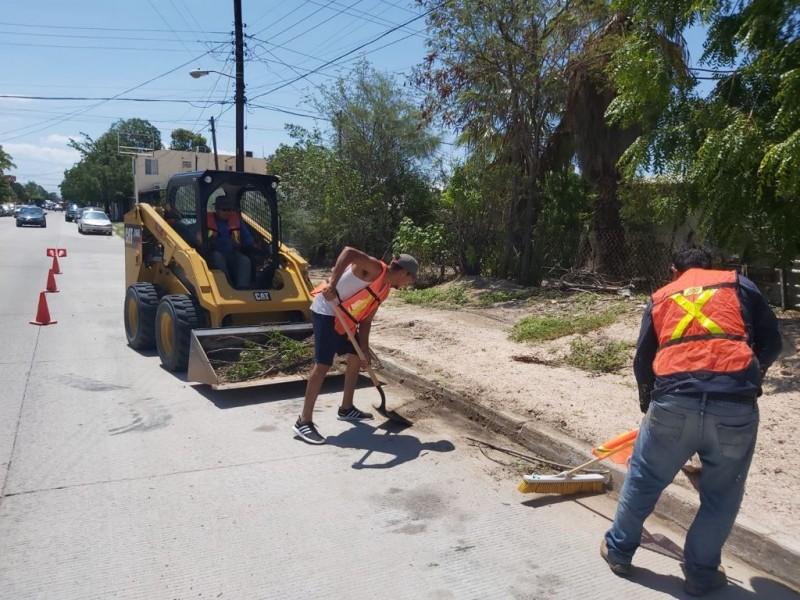 Gobierno del Estado arrancó jornada de limpieza