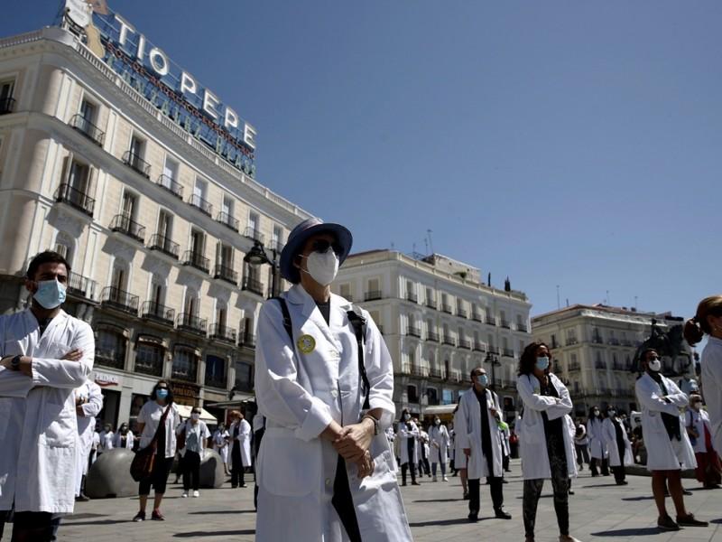 Gobierno español declara estado de alarma en Madrid