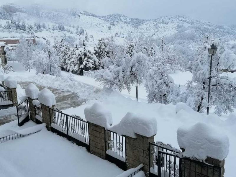 Gobierno español declara zona catastrófica a territorios afectados por nevadas