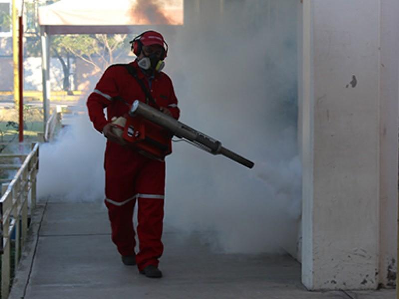 Gobierno estatal inició campaña de nebulización