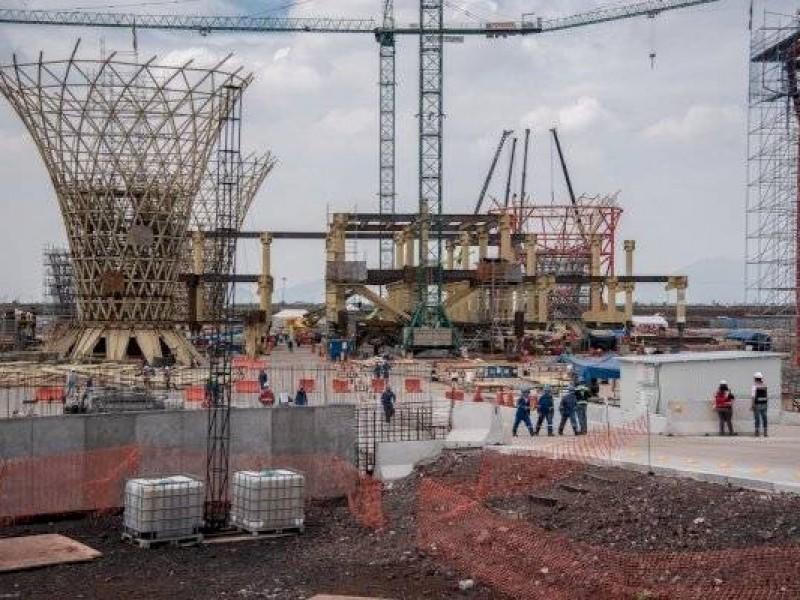 Gobierno federal liquida dos contratos del Nuevo Aeropuerto