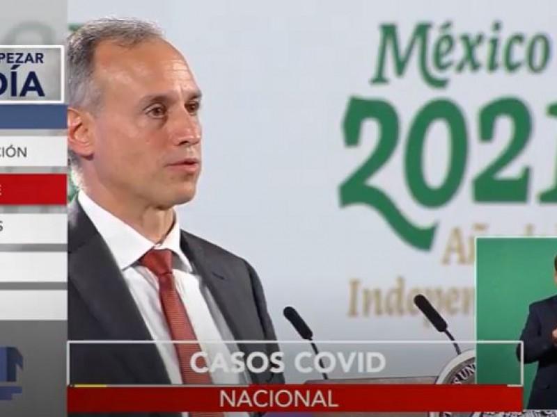 Gobierno mexicano advierte sobre un repunte de contagios Covid-19