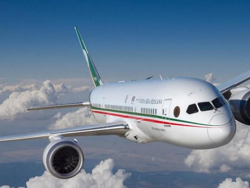 Gobierno podría concluir tema del avión presidencial