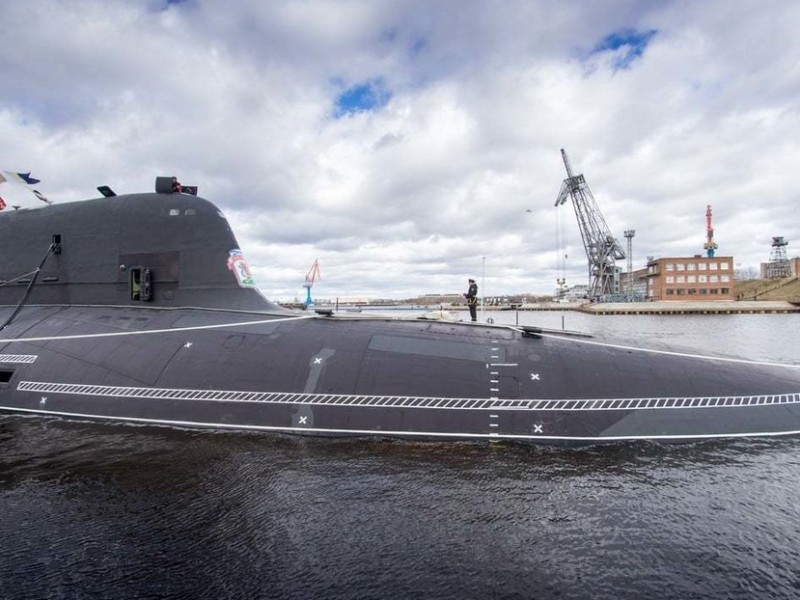 Gobierno ruso con nuevo juguetito, la Armada recibe nuevo submarino