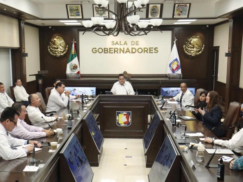 Gobiernos Estatal y municipales acuerdan 14 acciones contra Coronavirus