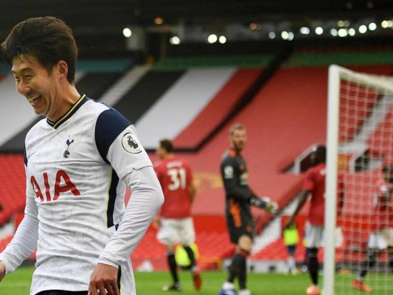 Goleada del Tottenham al Manchester United a domicilio 1-6
