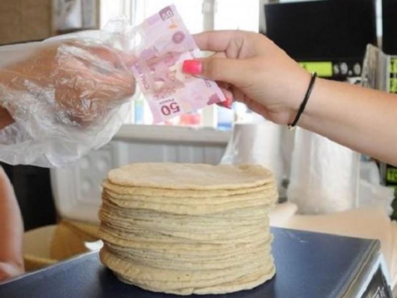 Golpe a la economía. Sube precio de tortilla