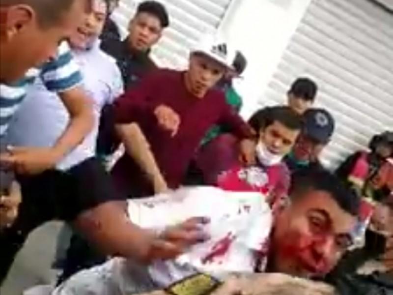Golpean a asaltantes en Cuautitlán México