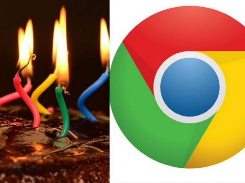 Google Chrome se renueva en cumpleaños número 10