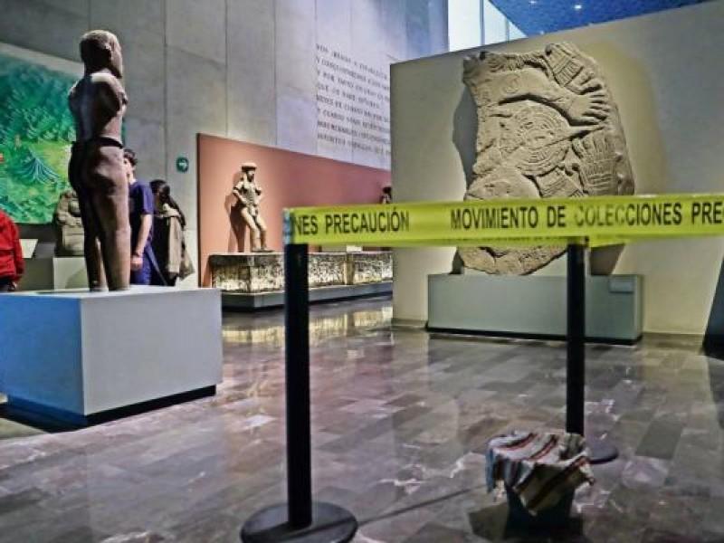 Goteras en el Museo de Antropología