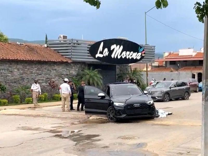 Graban balacera en Tuxtla Gutiérrez