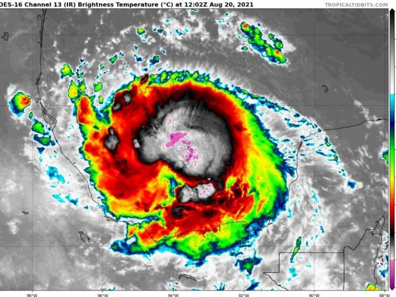 Grace es de nuevo huracán categoría 1