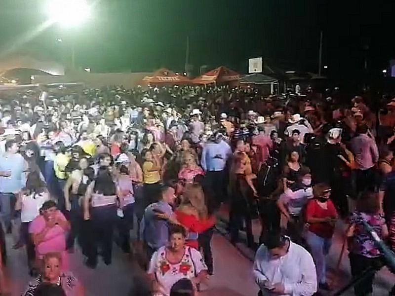 Gran afluencia en el baile de San Juan en Cocorit