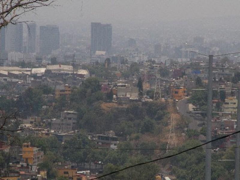 Gran cantidad de humo al sur de CDMX
