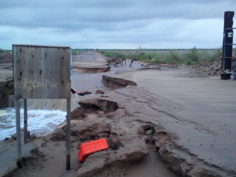 Granjas acuícolas con fuertes daños en Ahome