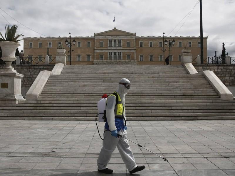 Grecia decreta toque de queda en Atenas y otras zonas
