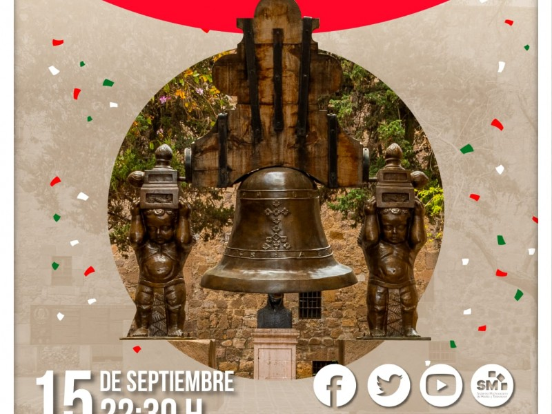 Grito de la Independencia en Michoacán será virtual