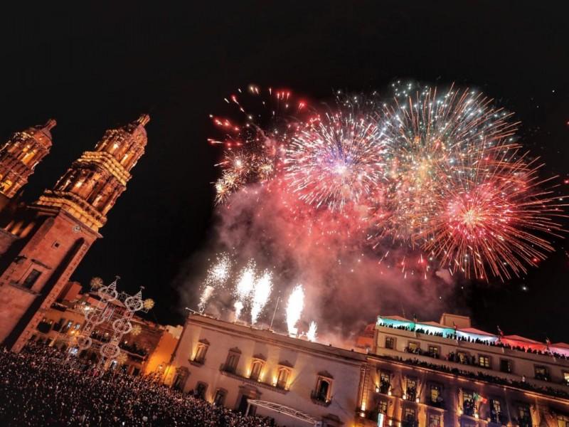 Gritó Zacatecas Viva México