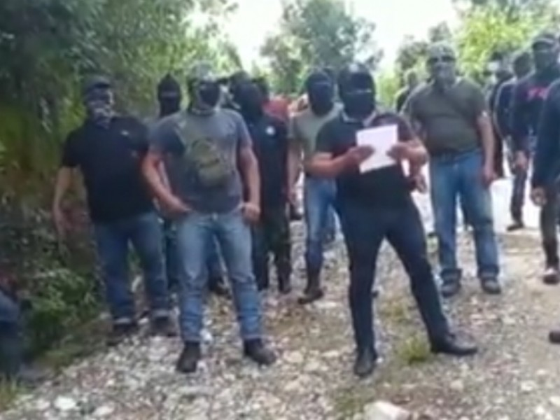 Grupo armado de Chenalhó pide resolución de conflicto agrario