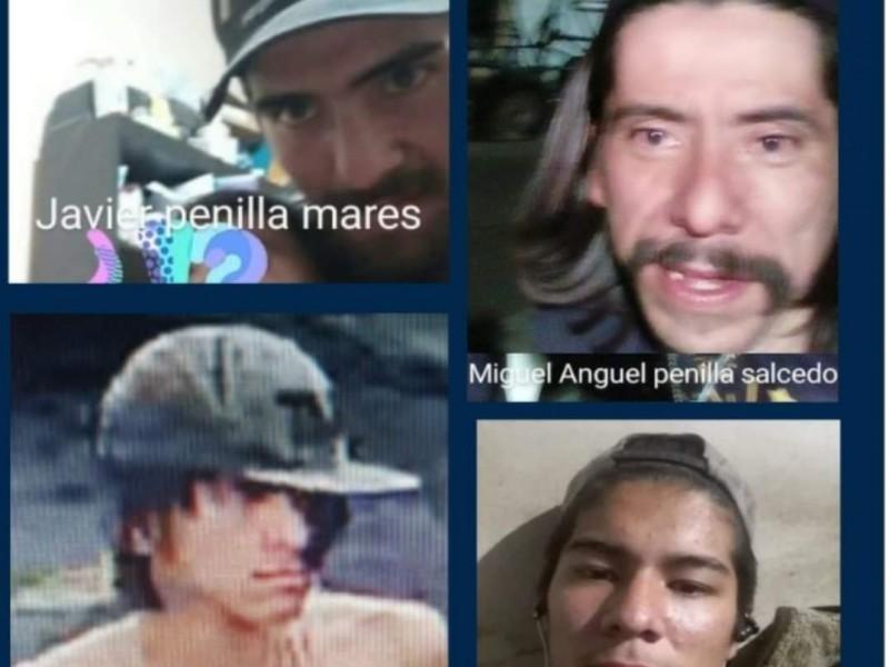 Grupo armado desaparece a cuatro familiares en Santa Teresita