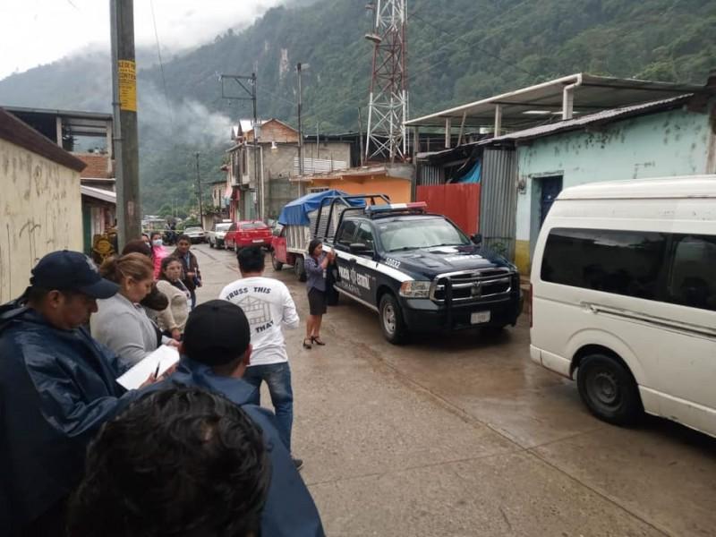 Grupo armado se roba boletas electorales en Siltepec